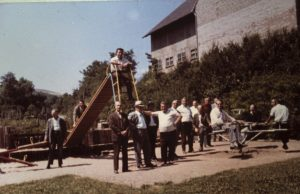Kinderspielplatz Heimkirchen 1972
